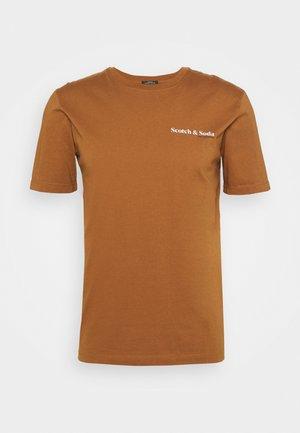 TEE UNISEX - T-shirt basic - tabacco
