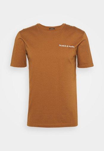TEE UNISEX - Basic T-shirt - tabacco