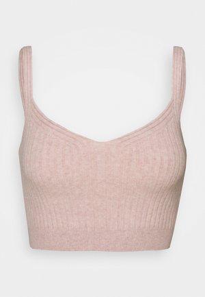 ENYA CROP - Top - whisper pink