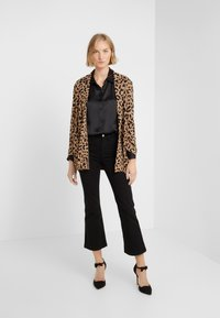 J.CREW - LEOPARD SOPHIE - Kardigan - heather acorn/black - 1