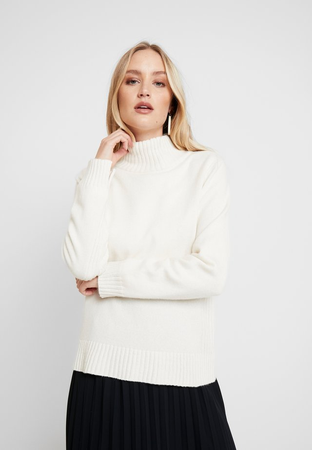ANTON SWEATER - Strikkegenser - off white