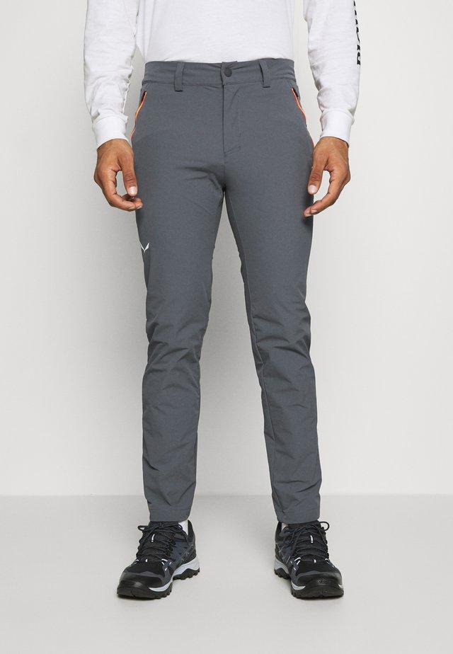 VEZZANA - Trousers - ombre blue