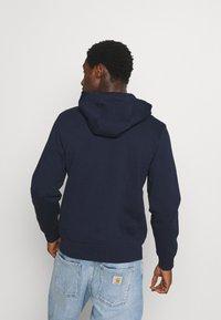 Lacoste - CLASSIC HOODIE - Felpa aperta - navy blue - 2