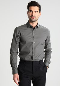 Calvin Klein Tailored - BARI SLIM FIT - Formal shirt - grey - 0