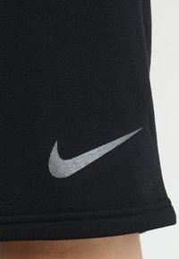 Nike Performance - DRY SHORT  - Sports shorts - black/metalic hematite - 5