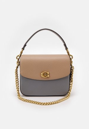 COLORBLOCK CASSIE CROSSBODY  - Käsilaukku - taupe/granite/multi