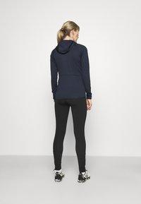 adidas Performance - TERREX TECH LITE HOODED - Fleece jacket - legend ink - 2