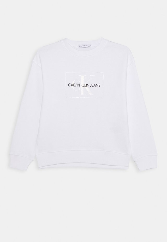 SMALL MONOGRAM  - Sweatshirts - white