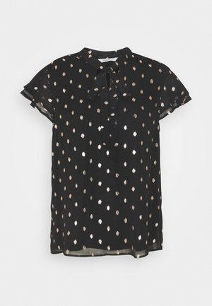 ONLISABELLA   - T-shirts print - black/rosegold