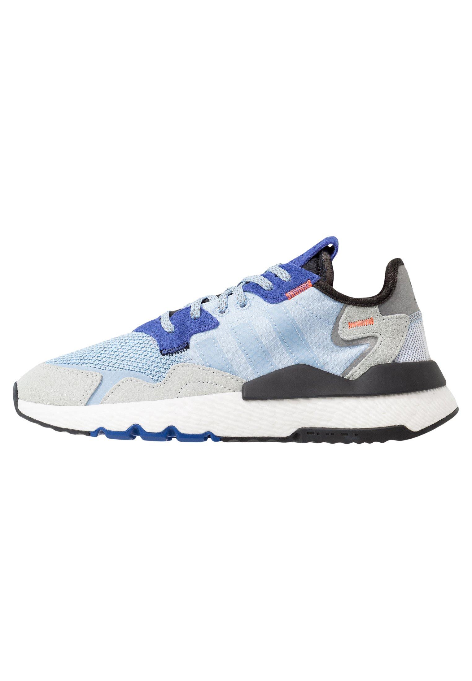adidas nite jogger femme bleu
