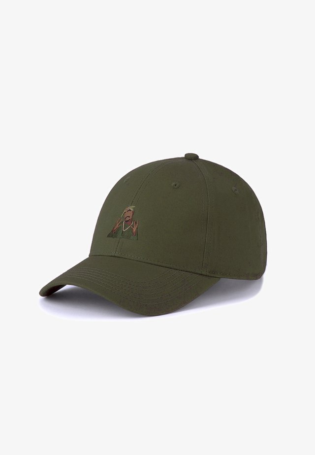 Casquette - olive/woodland