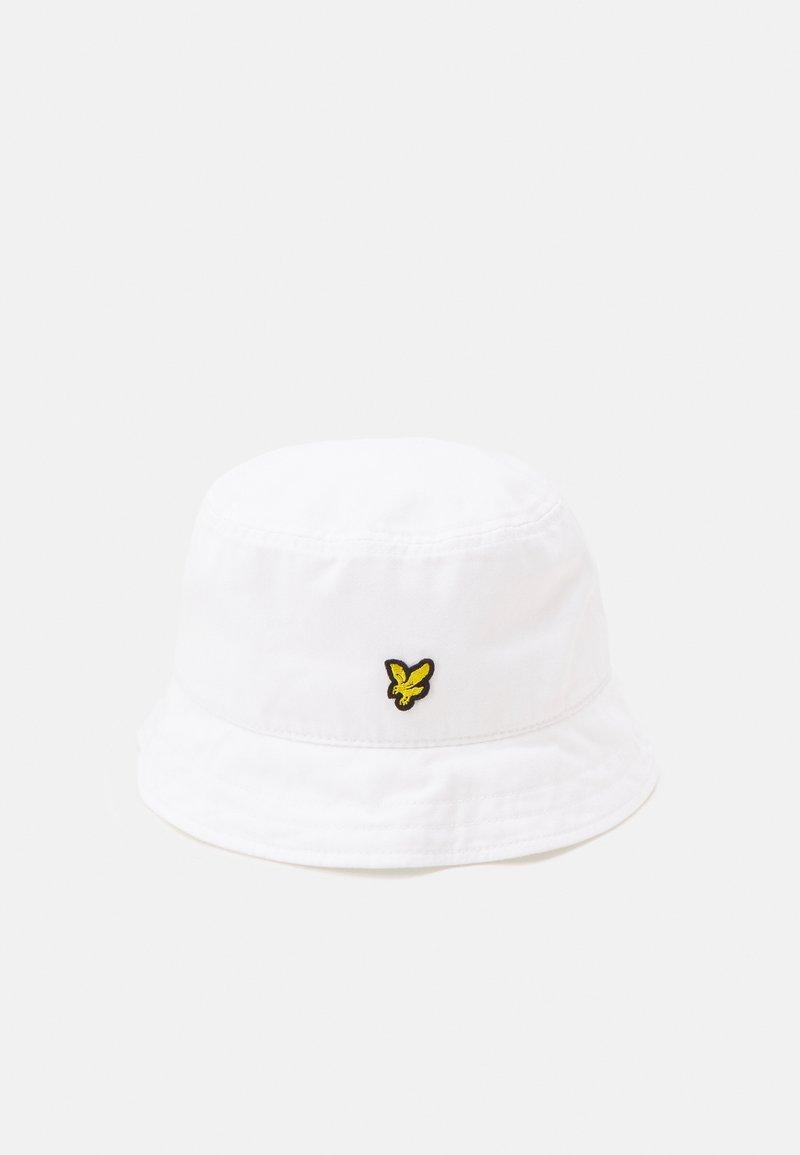Lyle & Scott - BUCKET HAT UNISEX - Hatt - white