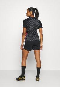 Nike Performance - KROATIEN - National team wear - anthracite/black/university red - 2