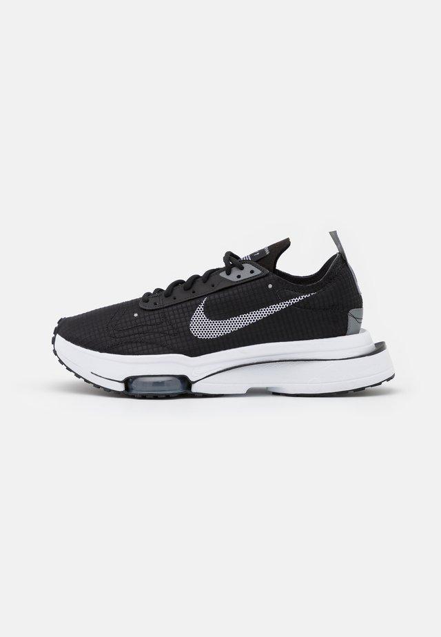 AIR ZOOM TYPE - Trainers - black/white/smoke grey