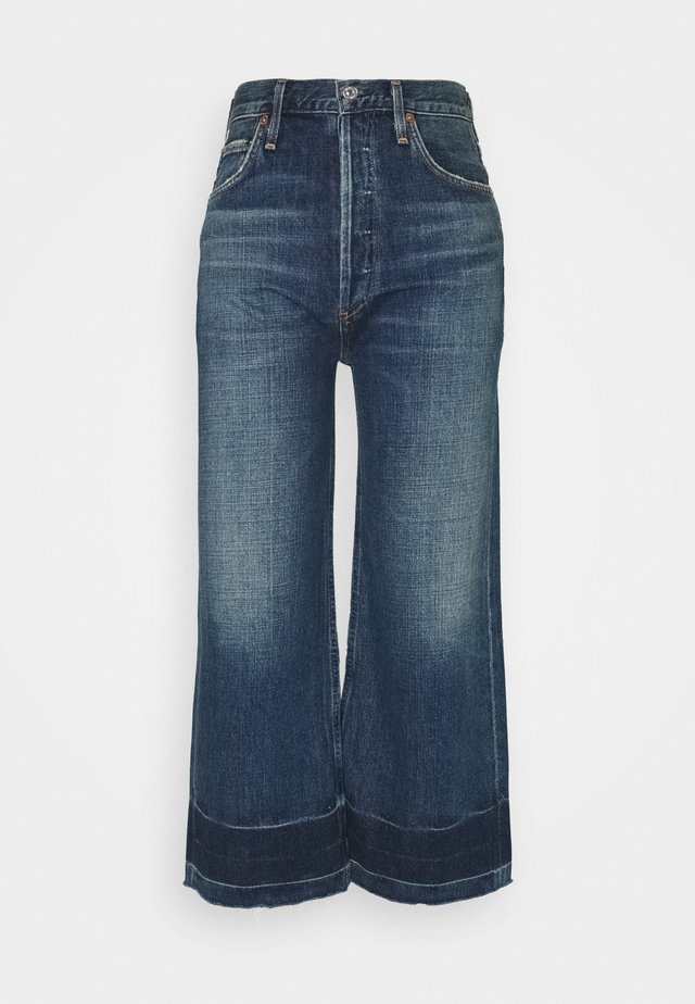 SACHA HIGH RISE - Jean boyfriend - blue denim