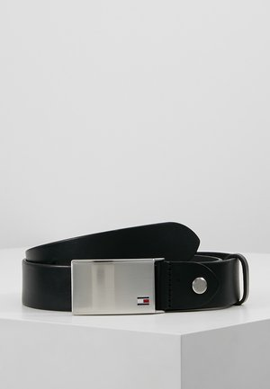 PLAQUE BELT - Cinturón - black