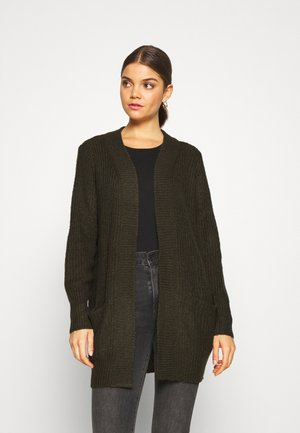 MEGAN  - Cardigan - forest night/black