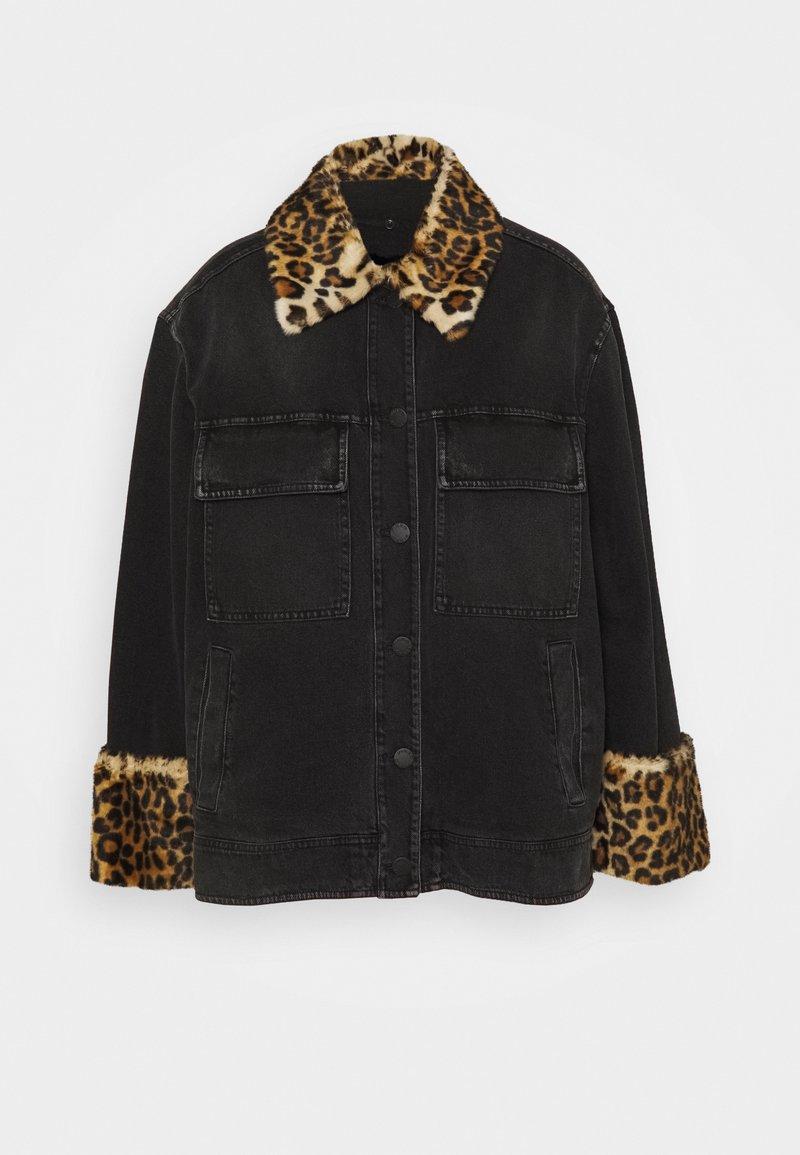 Pinko - EMMA - Veste en jean - black