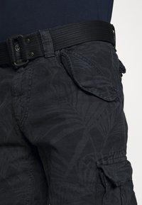 Schott - Cargo trousers - navy - 3