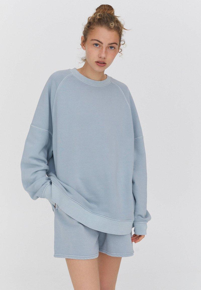 PULL&BEAR - Sweatshirt - blue