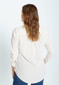 Violeta by Mango - Button-down blouse - cremeweiß - 2