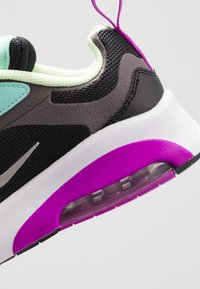 Nike Sportswear - NIKE AIR MAX 200 SCHUH FÜR JÜNGERE KINDER - Sneakers - black/metalic silver/thunder grey/aurora green/hyper violet/barely volt - 2