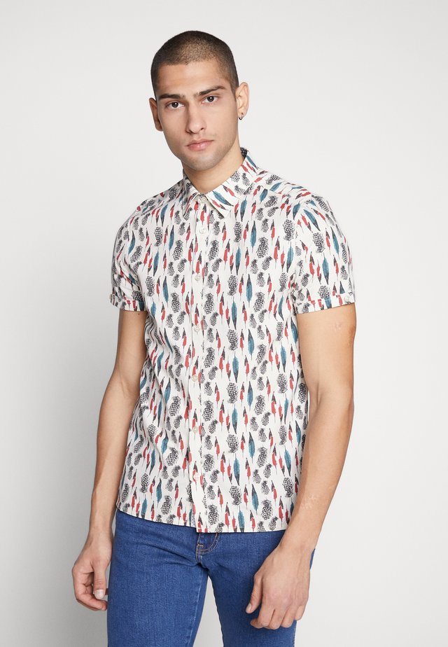 CLEATOR FEATHER PRINT - Camisa - natural