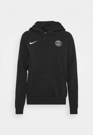 PARIS ST. GERMAIN HOODIE - Club wear - black/arctic punch