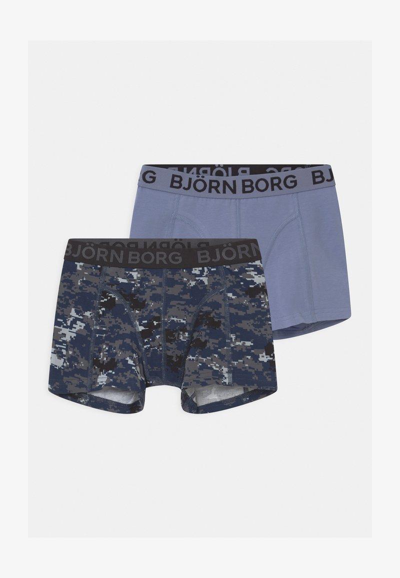Björn Borg - DIGITAL WOODLAND SAMMY 2 PACK - Pants - mood indigo