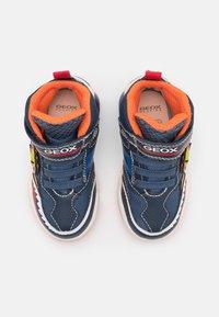 Geox - INEK BOY - High-top trainers - navy/orange - 3