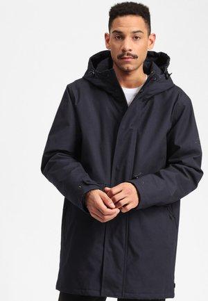 ANC - Winter coat - mottled dark blue