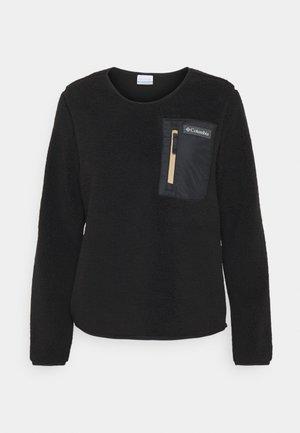 WEST BEND™ CREW - Fleecepullover - black