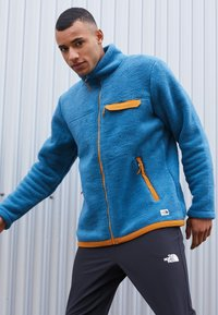 The North Face - CRAGMONT JACKET - Fleecová bunda - blue - 2