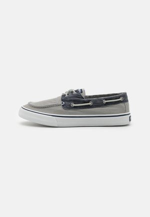 BAHAMA II - Boat shoes - grey/khaki