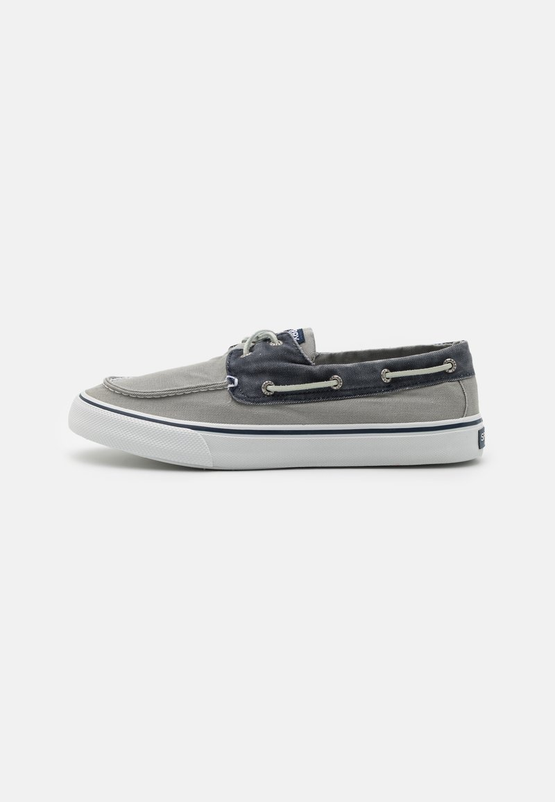 Sperry - BAHAMA II - Boat shoes - grey/khaki