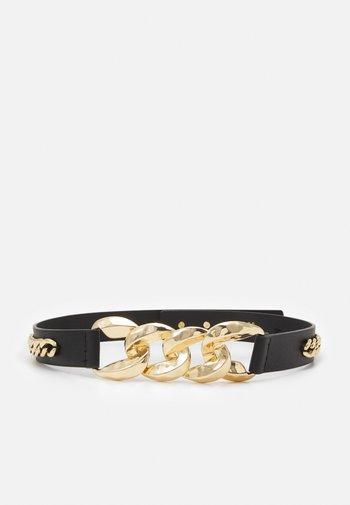 PCKASHI WAIST BELT - Waist belt - black/gold