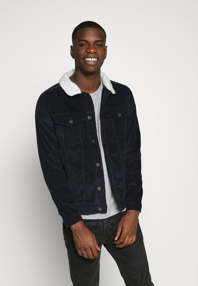TEDDY JACKET - Summer jacket - navy