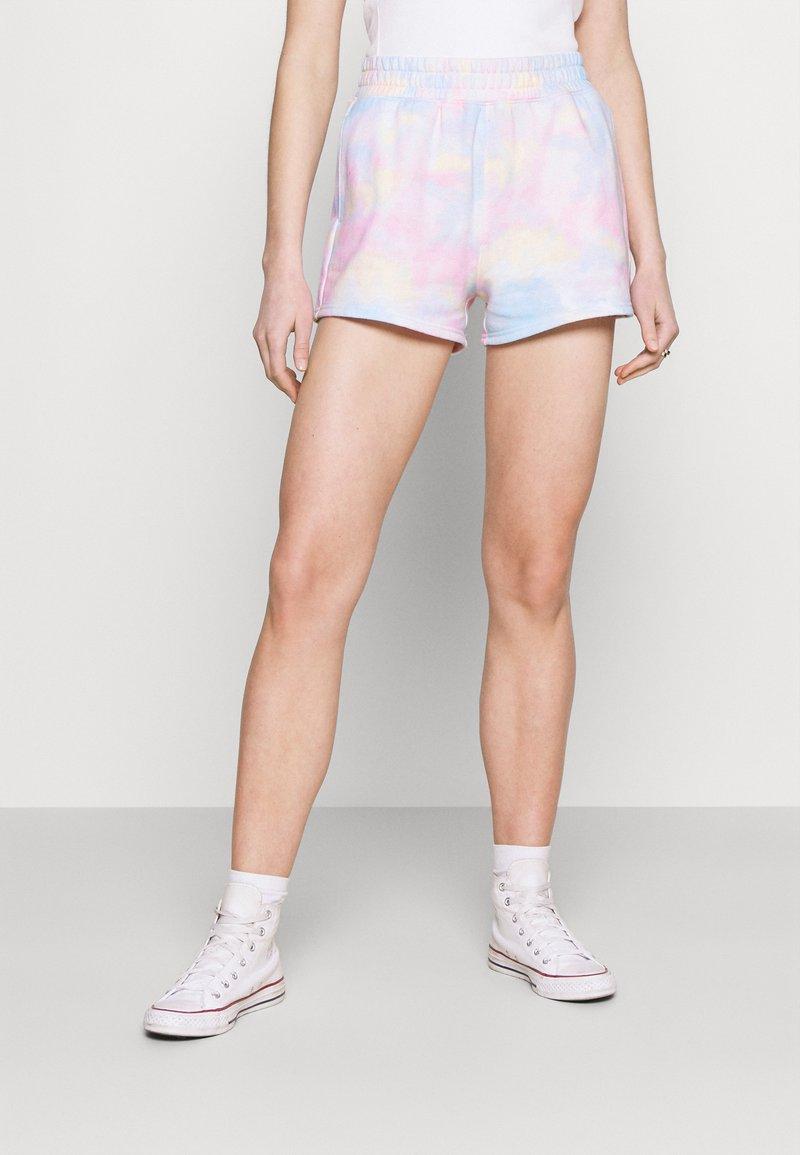 Hollister Co. - Shorts - tie dye wash effect