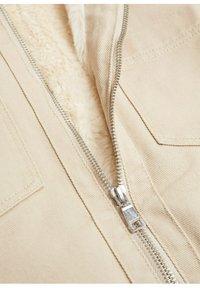 Mango - Winter jacket - beige - 2