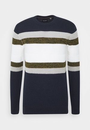ONSLAZLO STRIPED - Jumper - dress blues
