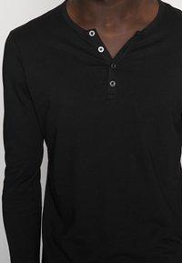 Pier One - Long sleeved top - black - 4