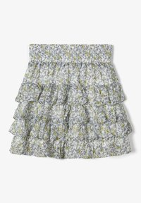 Name it - A-line skirt - bright white - 2