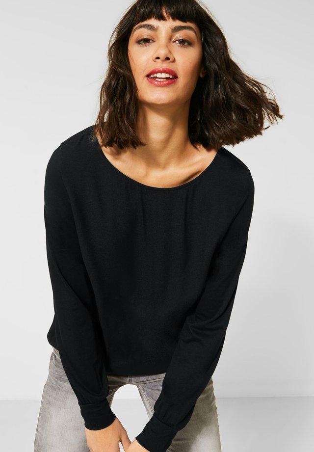 Bluse - schwarz