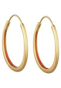 Elli - BASIC HOOPS - Earrings - gold-coloured - 5