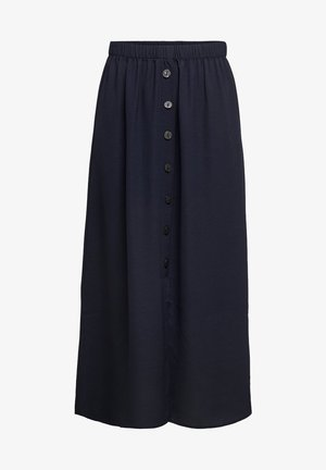 ONLY MIDIROCK KNOPFDETAIL - A-line skirt - night sky