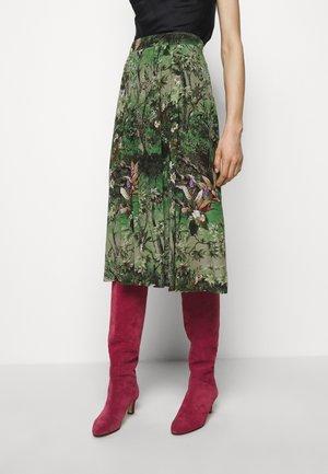SKIRT - A-line skirt - green