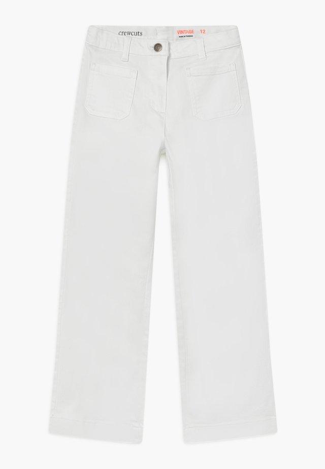 SAILOR - Džíny Straight Fit - white
