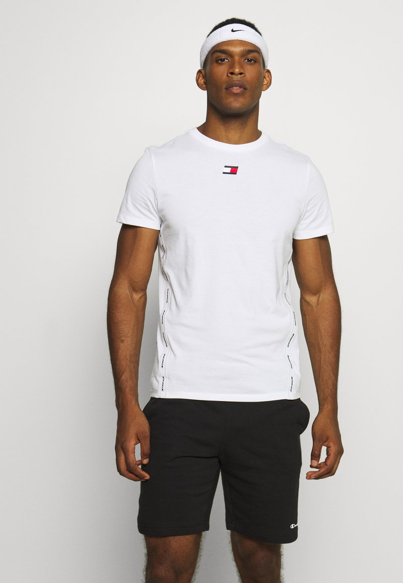 Tommy Hilfiger - TAPE  - Print T-shirt - white