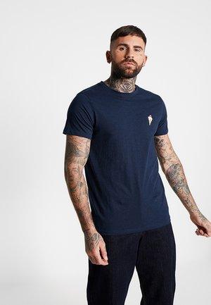 DEAN TEE - T-shirts print - navy