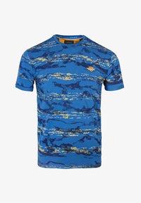 Gabbiano - Print T-shirt - cobalt - 4